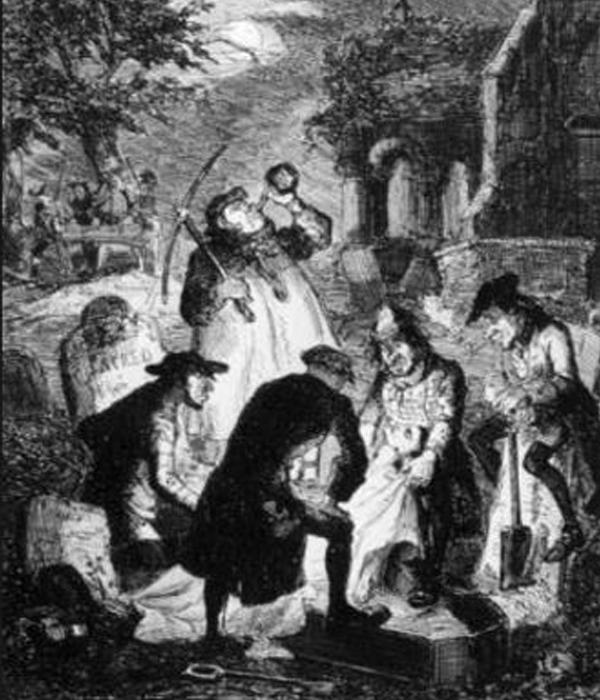 "Graverobbers, Resurrectionists and ""Sack 'em Ups"""