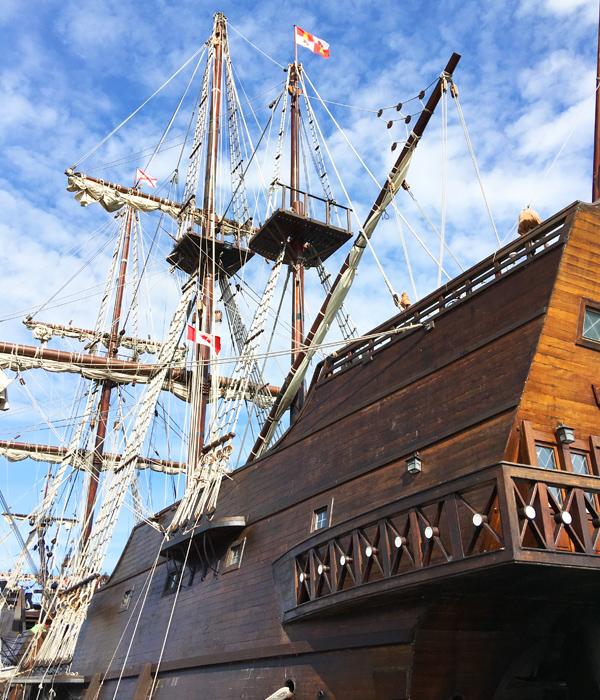 Aboard a 17th Century Spanish Galleon