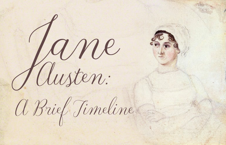 Jane Austen: A Brief Timeline