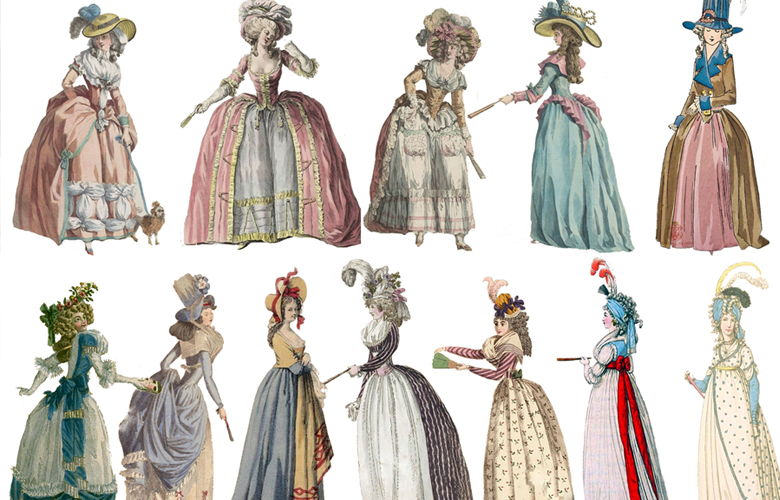 Women's Fashion 1784-1970