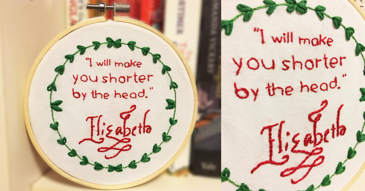 GIVEAWAY: Win an Adorably Nerdy Embroidery Hoop