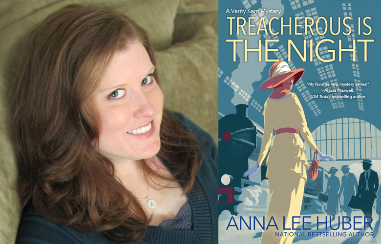 Interview: Anna Lee Huber, Author of Treacherous is the Night