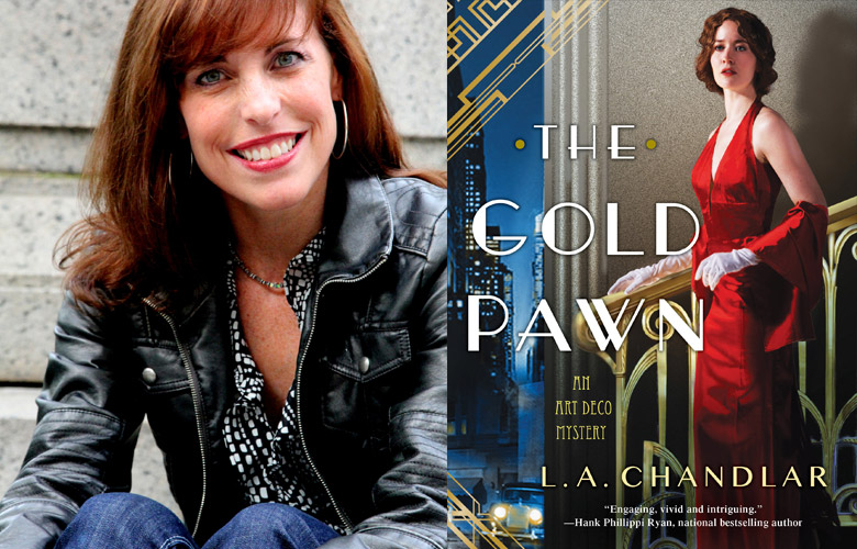 Interview/Giveaway: The Gold Pawn by L.A. Chandlar