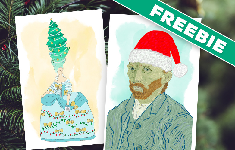 Historical Holiday Cards are Here (Plus a Freebie!)